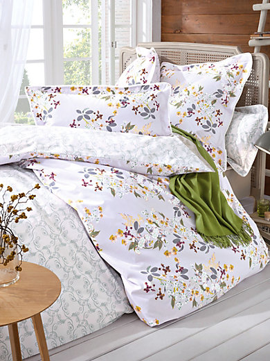 yves delorme la taie d 39 oreiller env 80x80cm violet multicolore. Black Bedroom Furniture Sets. Home Design Ideas