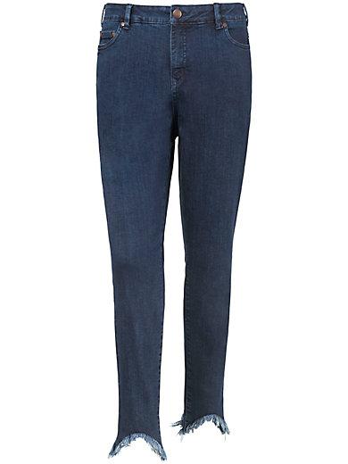 zizzi - 5-Pocket-Jeans im Used-Look
