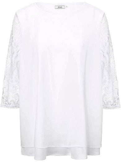 zizzi - Blouse with lace sleeves