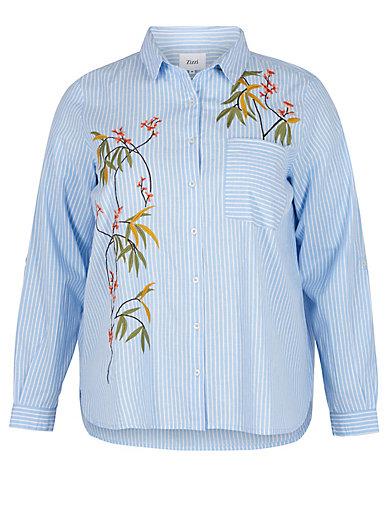 zizzi - Bluse mit Hemdkragen