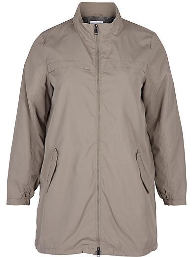 zizzi - Lange Jacke mit legerem Schnitt
