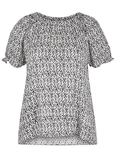 zizzi - Schlupf-Bluse mit 1/2 Arm