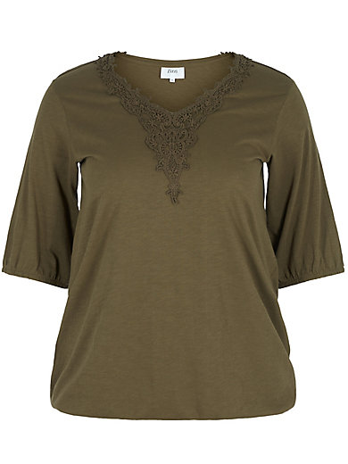 zizzi - Shirt mit 3/4 Arm