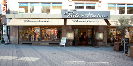 popular brand various colors premium selection Peter Hahn Filialen im Überblick